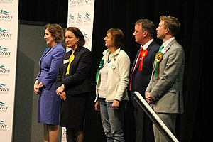 Aberconwy (Assembly constituency) - Aberconwy Count 2016 Janet Finch Saunders, Sarah Lesiter-Burgess, Petra Haig, Mike Priestley; Trystan Lewis