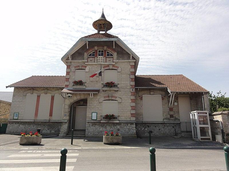 Cys-la-Commune (Aisne) mairie