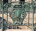 Détail de la station de métro du Palais-Royal (Hector Guimard) (2568008425).jpg