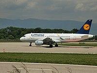 D-AILU - A319 - Lufthansa