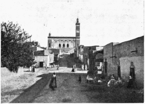 Laghouat - Street in Laghouat, by Gustave Achille Guillaumet.