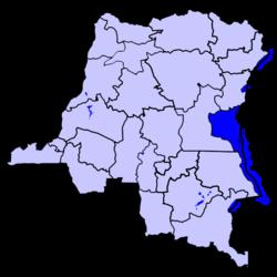 Location of Sud-Kivu