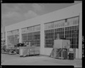 DETAIL VIEW, MULTI-LIGHT, STEEL-FRAME WINDOWS, WEST SIDE - Maintenance Building, Second Street, Keyport, Kitsap County, WA HABS WA-266-8.tif