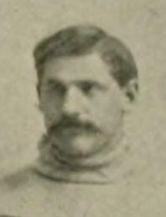 D. M. Balliet - Balliet cropped from the 1891 Lehigh football team photo