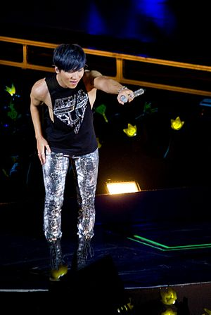 Daesung - Daesung performing in Big Bang's Alive World Tour on September, 2012