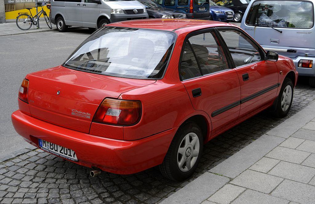 File:Daihatsu Charade SX rear view.JPG - Wikimedia Commons