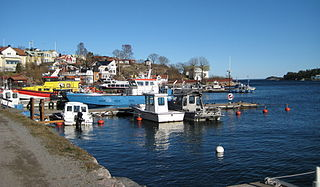 Dalarö Place in Södermanland, Sweden