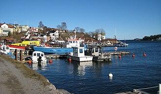 Dalarö - Dalarö harbour