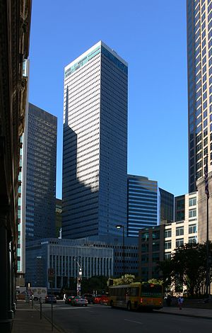 Republic Center - Image: Dallas Republic Center Tower II 1