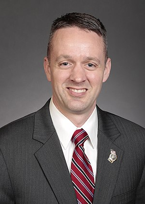 Dan Dawson (politician) - Official photograph