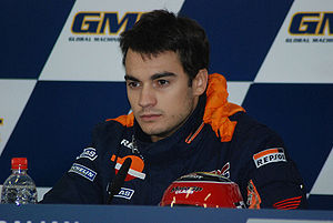 Dani Pedrosa, Post qualifying press conference.
