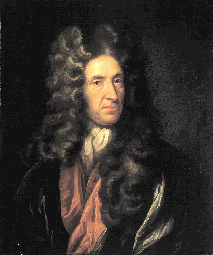 Portrait of Daniel Defoe, National Maritime Museum, London