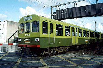 Dublin Area Rapid Transit - Image: Dart 8306 00