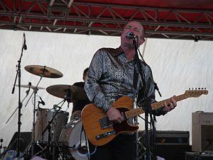 Dave Faulkner (musician) - Dave Faulkner Apr 2012 at Rottnest in front of the Hoodoo Gurus