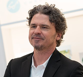 Dave Eggers - Eggers at BookExpo America in 2018