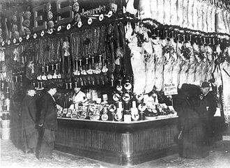 William Davies Company - Image: Davies Stall St Lawrence Market