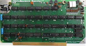 Cromemco Dazzler - Picture of Cromemco Dazzler (Board 1). First Microcomputer Color Graphics Interface.