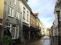 De Hoogstraat de oudste en belangrijkste straat van Montfoort..JPG