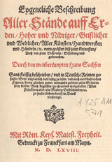 Title page of the book of status