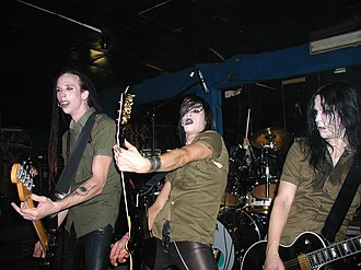 Deathstars - Image: Deathstars 6 October 2006