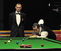Dechawat Poomjaeng and Jurgen Gruson at Snooker German Masters (Martin Rulsch) 2014-01-29 01.jpg