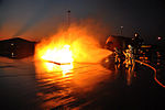 Defense.gov News Photo 110902-F-ZZ999-017 - Firefighters from the Selfridge Air National Guard Base Mich. fire department work to extinguish a fire during a training exercise on Sept. 2.jpg