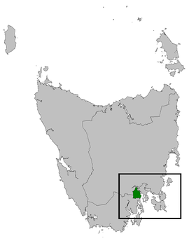 Denison electorate 2009.png