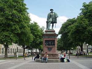 Christoph, Duke of Württemberg - Monument for Christoph in Stuttgart