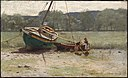Dennis Miller Bunker - Salt Marsh Landscape with Two Children near a Beached Sailboat and Dory - 1986.575 - Museum of Fine Arts.jpg