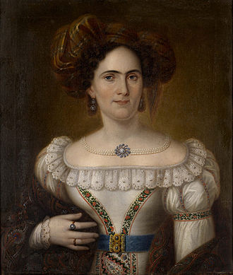 Municipal Art Gallery of Ioannina - Dionysios Vegias (1820–84) Portrait of a woman (1870)
