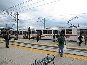Transportation Expansion Project - Image: Denver I25&Broadway Station