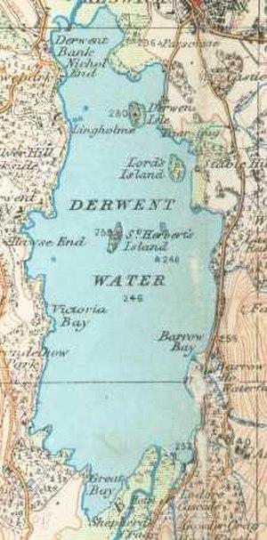 Derwentwater - Image: Derwentcroped