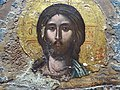 Detail of Christ in Deeisis (Prayer) - 17th Century Icon from Monastery of Holy Mary - National Historical Museum - Tirana - Albania - 01 (27929175387).jpg
