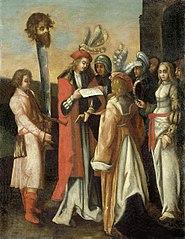 Israel's Virgins praise the victory of David