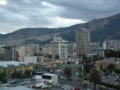 Diego de Almagro Ave towards La Mariscal tourist district, view of Holiday Inn Express Quito..png