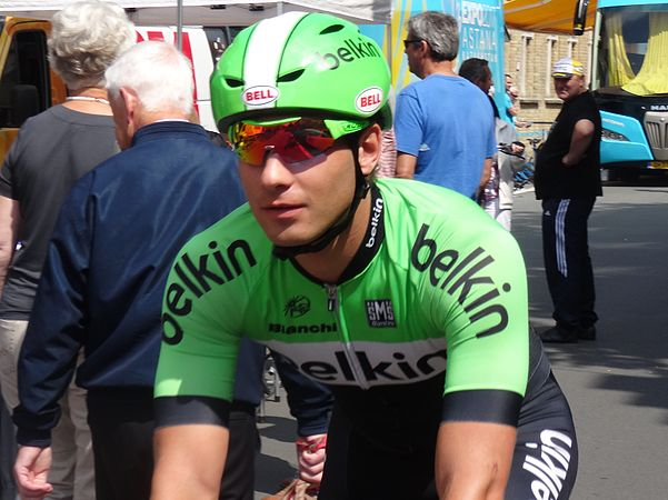 Diksmuide - Ronde van België, etappe 3, individuele tijdrit, 30 mei 2014 (A038).JPG
