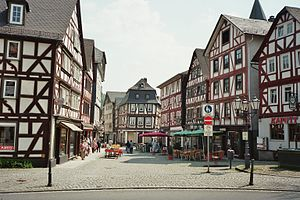 Dillenburg - Dillenburg downtown area