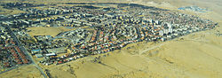 Aerial view of Dimona