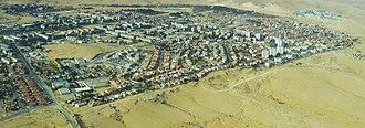 Dimona - Aerial view of Dimona
