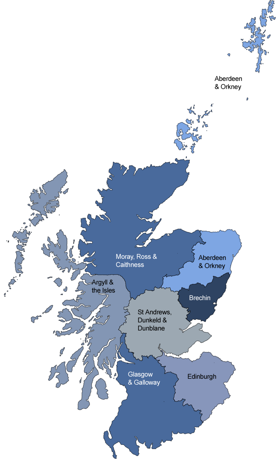Dioceses of the Scottish Episcopal Church