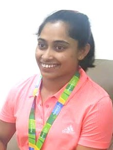 Dipa Karmakar in April 2016.jpg