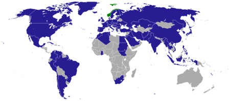 List Of Diplomatic Missions In Norway Wikipedia - Norway map wikipedia