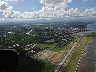 Dipolog - Aerial view of Dipolog City