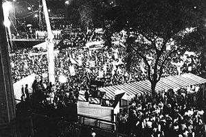 Diretas Já - Diretas Já demonstration in São Paulo on April 16, 1984.