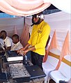 Disc jockey performing at a traditional wedding ceremony.jpeg