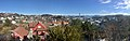 Distorted panorama view of central Leirvik town on Stord Island, Norway 2018-03-13 B.jpg