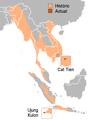Distribució del rinoceront de Java.PNG