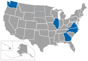 division i basketball independents map