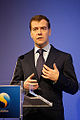 Dmitry Medvedev in Sweden 18 November 2009-5.jpg