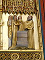 Doberan Münster - Kreuzaltar Marienseite 5 Darbringung Christi.jpg